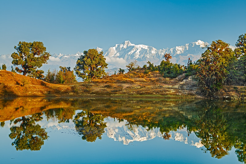 The Himalayas. Lake of Dream / Гималаи. Озеро мечты