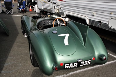 1954 JAGUAR D-TYPE  won LeMans three years in a row and became Jaguar's most successful race car.