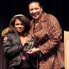 Girls JV Basketball Coach's Award to Mikala Campbell.