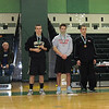 Luke Stocky takes first place in the 142 lb weight class at the Walter Johnson Big Train Duals.