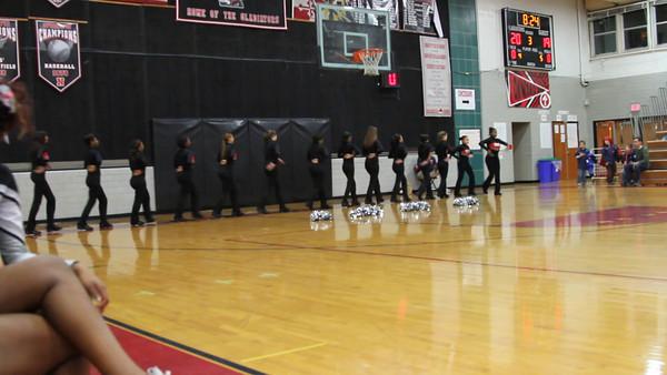 basketball 2012:  Halftime during Watkins Mill game