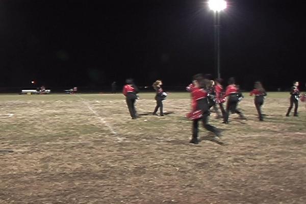 Performance at Blair-Northwood Football Game