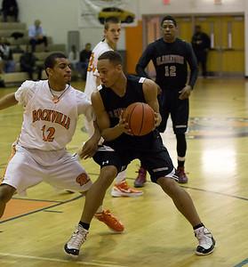 Boys Varsity Basketball:  Game 14 vs Rockville