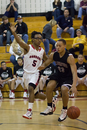 Boys Varsity Basketball: Frederick vs Montgomery Challenge Basketball Tournament