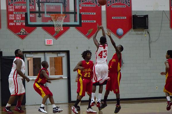 Boys JV Basketball:  Game 6 vs. Wheaton