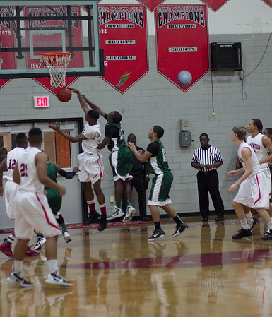 Boys Varsity Basketball:  Game 1 vs. Kennedy (new photos added courtesy of John Gunnison)