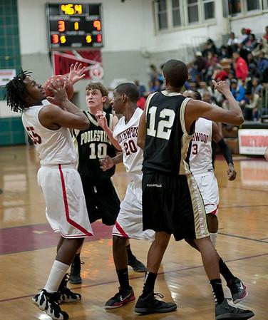 Boys Varsity Basketball:  Game 10 vs. Poolesville
