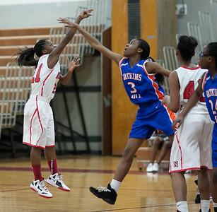 Girls Varsity Basketball:  Game 11 vs. Watkins Mill