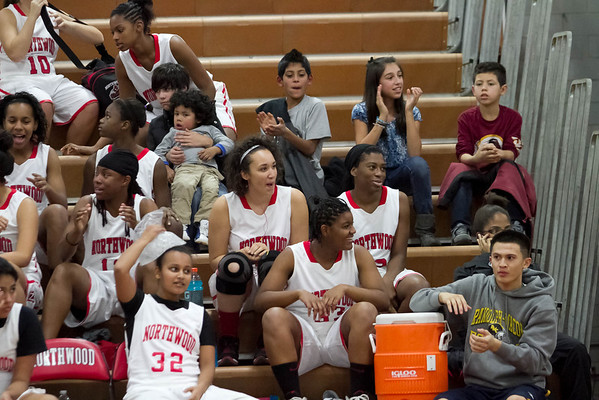 Girls Varsity Basketball:  Game 3 vs Magruder