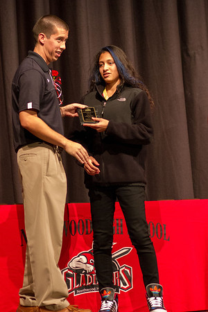 NORTHWOOD HS FALL SPORTS AWARDS CEREMONY