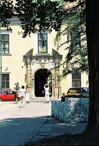 Krakow, Františkánská 3, palác krakovských arcibiskupů.