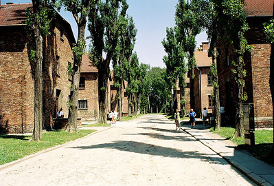 Barracks were built by prisoners.