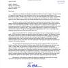 Letter from Tom Harkin
