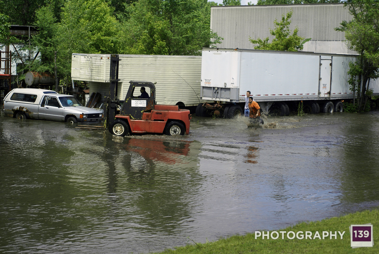Squaw Creek Flood - 2008