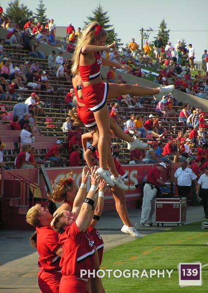 Illinois State Cheerleaders