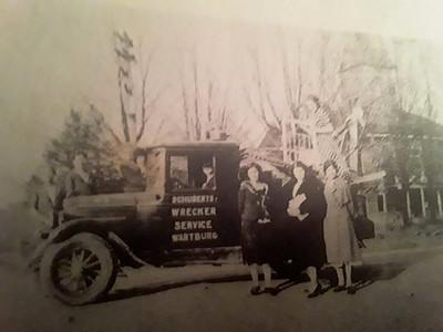 Schubert's Wrecker Service, Wartburg, TN (date unknown)