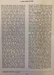 A Civil War Letter (pg 3)