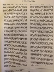 A Civil War Letter (pg 4)