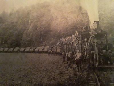 Logging Railroad, Gobey, TN (unknown date)