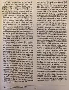 A Civil War Letter (pg 2)