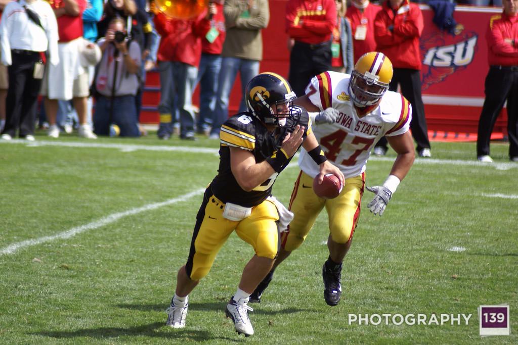 Iowa State 15 Iowa 13