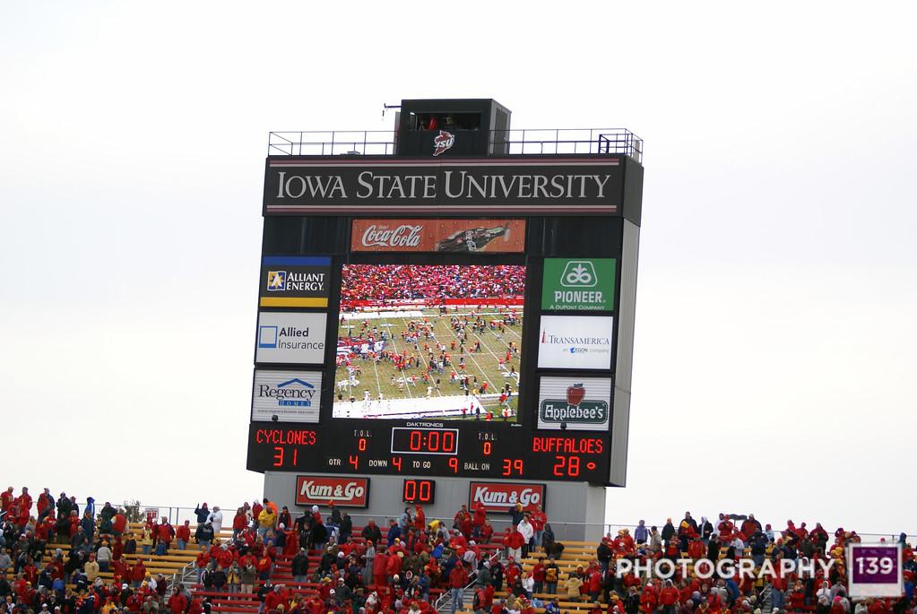 Iowa State vs. Colorado