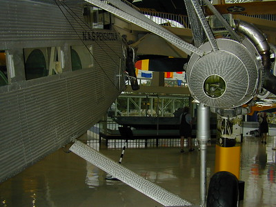 Ford Tri-Motor Engine (Rear View)
