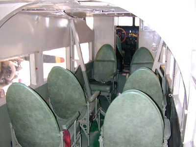 Passenger Accommodations (Ford Tri-Motor
