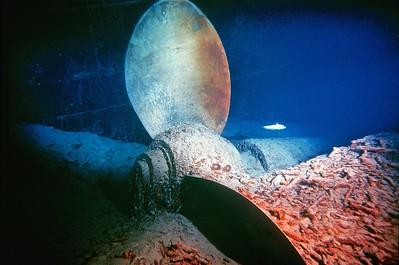 Titanic's Starboard Propeller