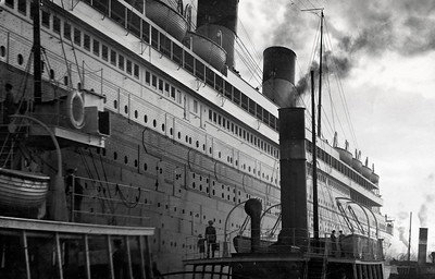 Artist's Rendering of RMS Olympic (1911)