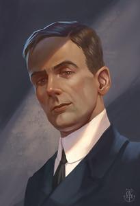 Joseph Boxhall by Tatiana Yamshanova