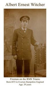 Albert Ernest Witcher (1873 - 1912)