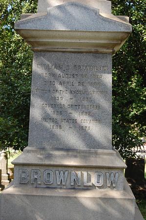 """William G. """"Parson"""" Brownlow (1805 ~ 1877)"""
