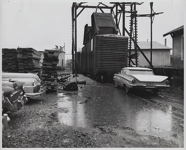 North End of New Yard (Bayside Yard) (1960)