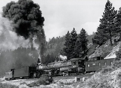 Southern Pacific AC-10 No. 4210 (September, 1954)