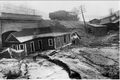 March 23, 1929, Flood at Oakdale, Tennessee