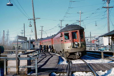North Shore and Milwaukee interurban railroad (January 16, 1960)