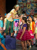HITS Theatre's Broadway Beginners 1 cast performs Godspell at their historic Heights theater in Houston.