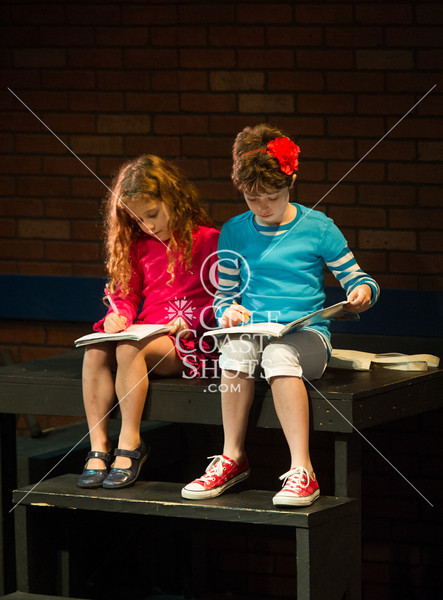 """HITS Theatre school's Broadway Beginnings 1 cast performs the Gary Kupper / Rose Caiola musical """"Freckleface Strawberry"""" at their historic Houston Heights theatre. 1pm., Sun., Dec. 9, 2012. Houston, Tex. (Kevin B Long/GulfCoastShots.com)"""