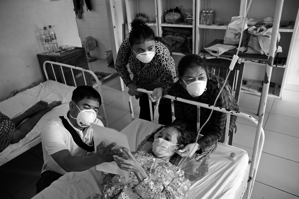 Permission - Brahmavihara Staff with Patient