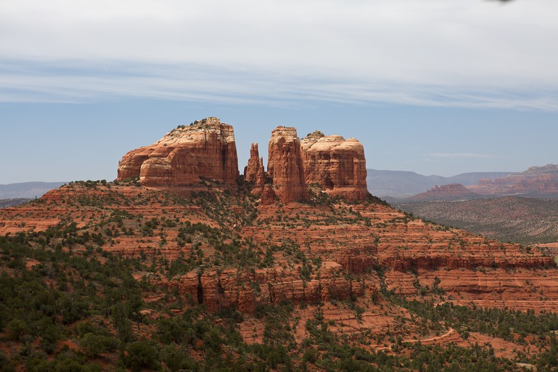 4/19/2008 Cathedral - Hiline loop in Sedona, AZ