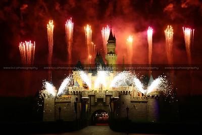 Disney In The Stars Fireworks, Hong Kong Disneyland