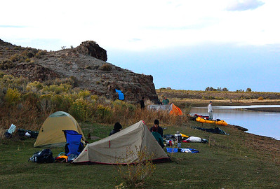 1st camp, south of Lasauses in the Fairy Hills.