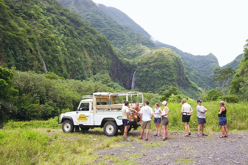 On Safari in Tahiti