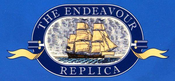 The Endeavour Replica logo