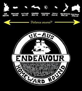 Tiff's excellent design for the permanent crew's voyage 'T' shirt