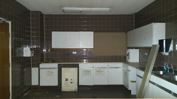 Servery kitchen.