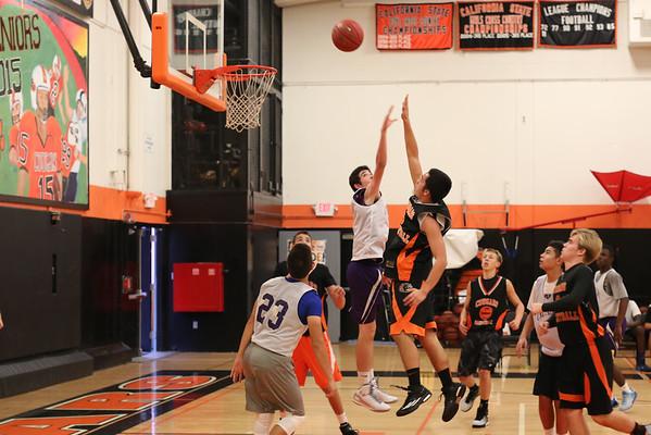 JV Basketball, 2014-15
