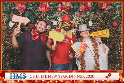 HMS Chinese New Year Dinner 2020 | © www.SRSLYPhotobooth.sg