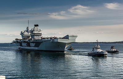HMS Queen Elizabeth, CSG 21